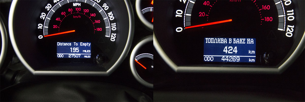 Русификация Toyota Tundra