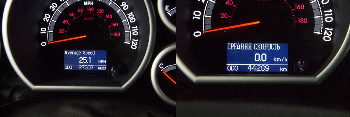 Русификация приборной панели Toyota Tundra